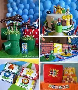 Super Mario Deko : kara 39 s party ideas super mario birthday party with so many fun ideas via kara 39 s party ideas ~ Frokenaadalensverden.com Haus und Dekorationen