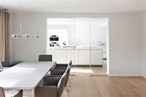 Schiebetür Glas Küche : schiebet r zwischen k che und wohnzimmer aus klarem glas k che pinterest ~ Sanjose-hotels-ca.com Haus und Dekorationen