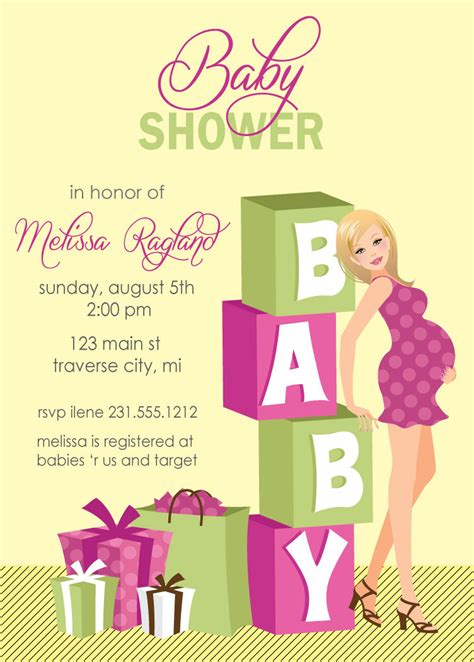 tips   personalized baby shower invitations