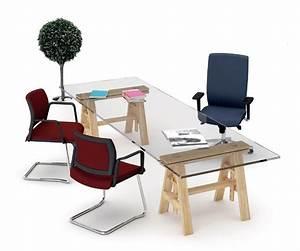 Chaise bureau pied U accoudoirs réunion ou visiteur OFFICE 605