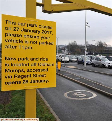 oldham news news headlines park  ride dont park