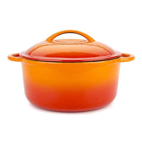 orange cooking pot storefront