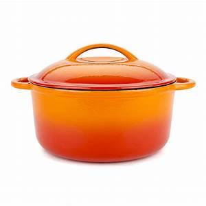 Orange Cooking Pot – Storefront