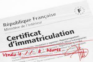 Carte Grise Vendue : quels documents ou certificats provisoires permettent l 39 usager de circuler en france en ~ Medecine-chirurgie-esthetiques.com Avis de Voitures