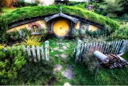 Hobbit Zealand Casa Lord Rings Homes Wallpapers