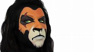 Scar | The Lion King Face Painting - YouTube