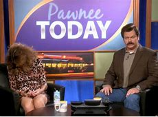 'Parks And Rec' Ron Swanson Takes Over 'Pawnee Today' In