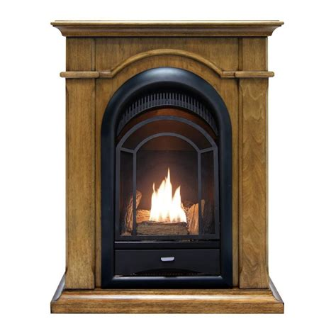 gas fireplaces ventless emberglow 43 in convertible vent free dual fuel gas