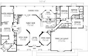 Mediterranean Style House Plan  4 Beds 450 Baths 4727 Sq