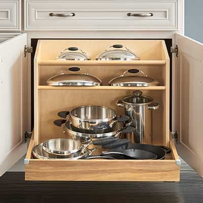 kitchen storage cabinets for pots and pans top cabinet brands at the home depot