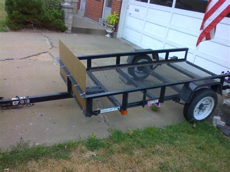 For Sale 4x8 Utility Trailer (il)  Harley Davidson Forums