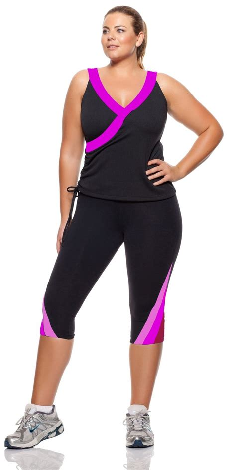 Workout In Style In Plus Size Wear!