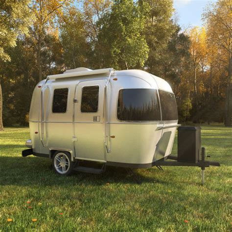 airstream sport trailer   model cgtrader