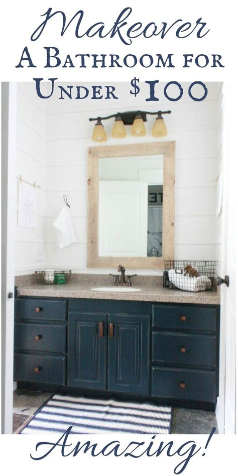 budget friendly bathroom makeover bloggers  diy