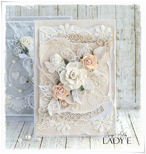 shabby chic cards wild orchid crafts shabby chic wedding cards