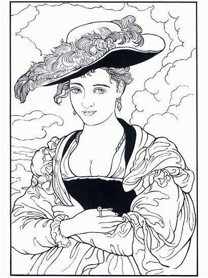 Coloring Famous Pages Rubens Painter Paintings Colouring
