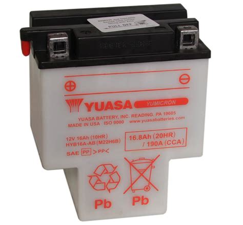 batterie yuasa moto hyb16a ab