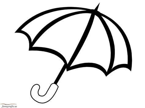 rainbow umbrella coloring page funnycrafts