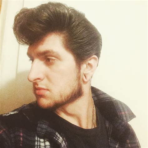 Teddy Boy Hairstyles by Pin By Cmb On Pompadour Hair Styles Hair Styles