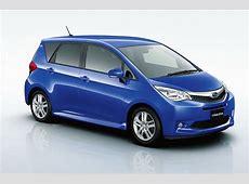Subaru's new compact MPV Autocar