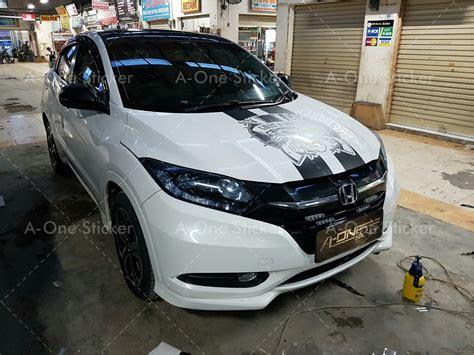 Modifikasi Honda Hrv by Cutting Sticker Mobil Modifikasi Sticker Depok Jakarta