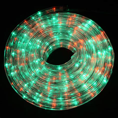 6m bright red green led rope light decoration garden