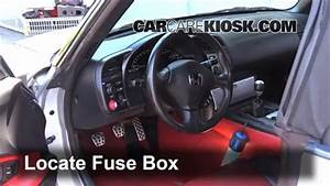 Honda S2000 Fuse Box Location