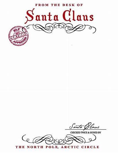 Santa Letter Signature Template Pdf Type Claus