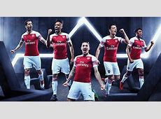 Arsenal 1819 Home Kit Released Footy Headlines