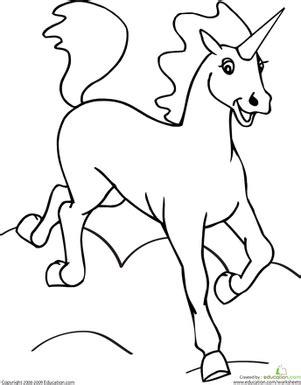 color  unicorn katie unicorn coloring pages