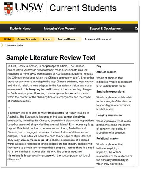 how to write literature review for quantitative research