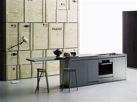 norbert cuisine küche aus stahl k2 by boffi design norbert wangen