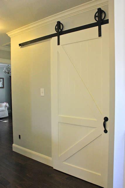 Unfinished Wood Pantry by Sliding Barn Doors Barn Sliding Door Lock