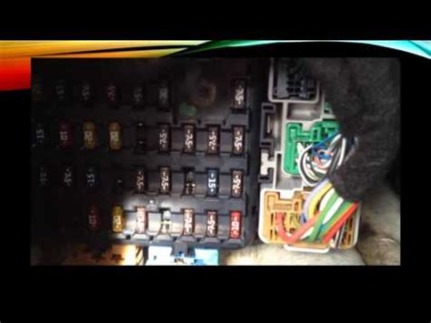 ford mondeo    fuse boxes youtube