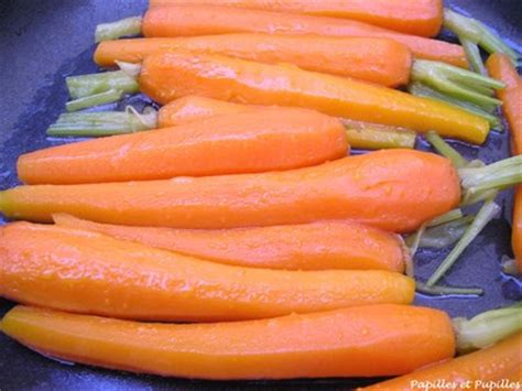 cuisiner la carotte carottes nouvelles glacées façon joël robuchon