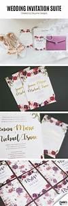 wedding invitation suite by deleone designs With xerox wedding invitations