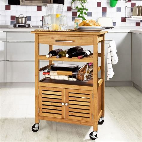 la cuisine de caro carro carito de cocina comedor bar restaurante mesa auxiliar con ruedas ebay