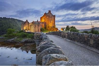 Castle Eilean Donan Scotland Castles Wallha 4k