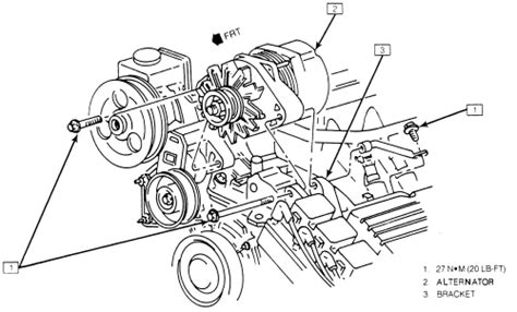 Diagram Of 2003 Buick Lesabre Alternator repair guides charging system alternator autozone