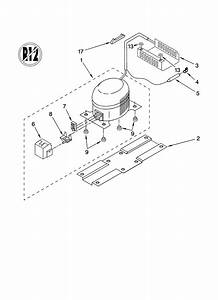 Whirlpool Refrigerator Compact Cabinet Parts