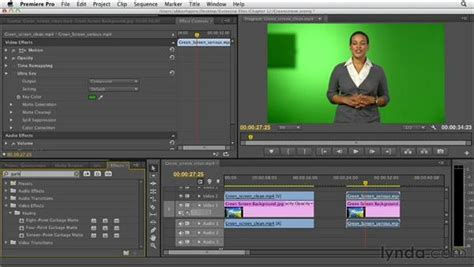 working  green screen  chroma key footage