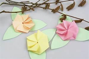 Blumen Aus Papier : exquisit blumen falten nouveau blumen basteln aus papier blumen aus papier selber falten origami ~ Udekor.club Haus und Dekorationen