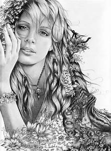 Pencil Drawings Of Nature | charlie theron mother nature ...