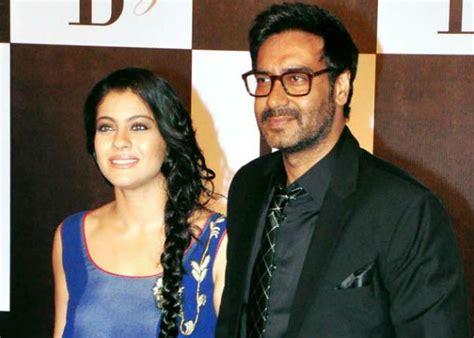 actress kajol husband photos omg kajol hasn t seen husband ajay devgn s shivaay yet