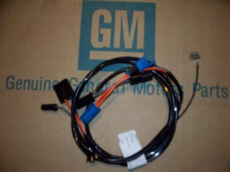 Clock Wiring Harness Chevy Camaro Pontiac Firebird