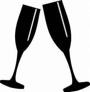Sektgläser Schwarz Weiß : kostenlose vektorgrafik gl ser champagner toast feier kostenloses bild auf pixabay 309665 ~ Watch28wear.com Haus und Dekorationen
