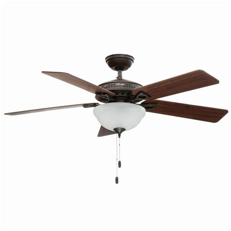bronze ceiling fan light kit hunter astoria 52 in indoor new bronze ceiling fan with
