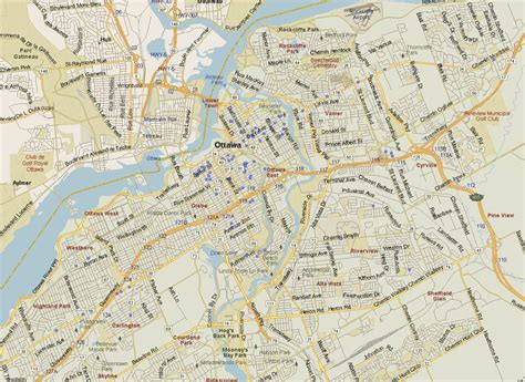 ottawa map north ontario listings canada