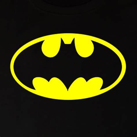 batman logo stencil