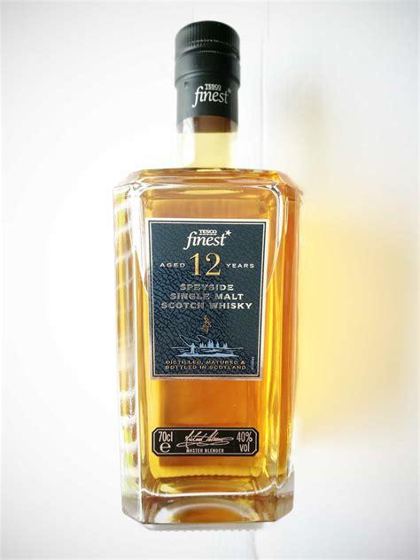 Tesco Finest Year Old Speyside Single Malt Whisky
